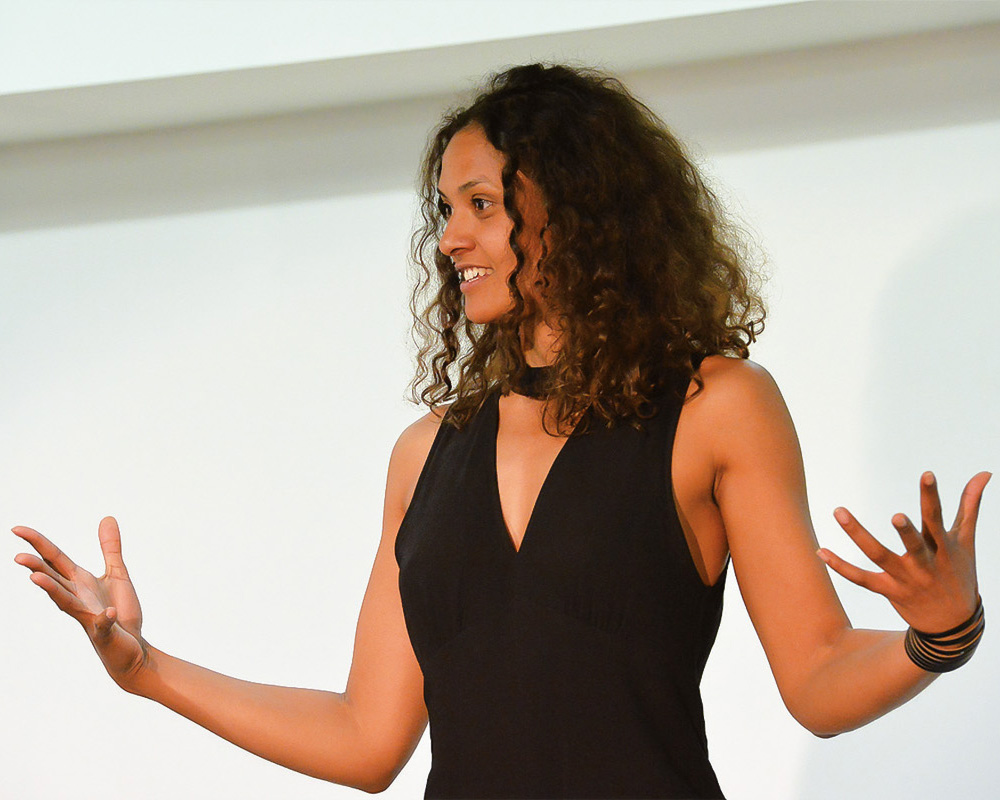Präsentationstraining mit Lucia Peraza Rios